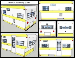 The current SketchUp model