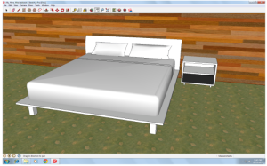 We've been toying with some designs, which we will model using Google Sketchup.