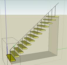 This is an example of the stairs Sierra and I had trouble making on Google Sketch. We were eventually able to make them with help from Pam Powell.