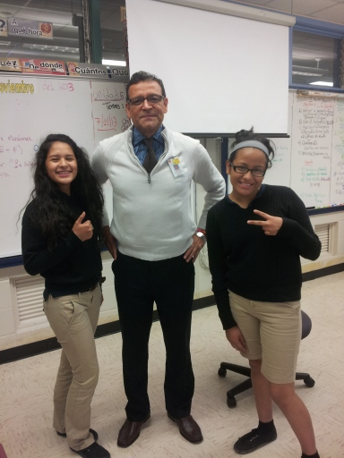 (Mr.Ruiz) Our lovely client who took the teacher survey.