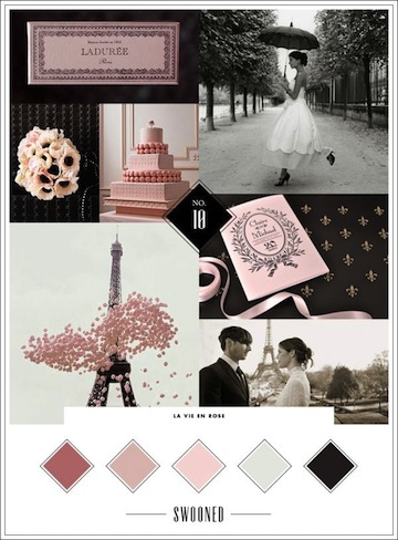 Mood Board, setting the mood of romance!