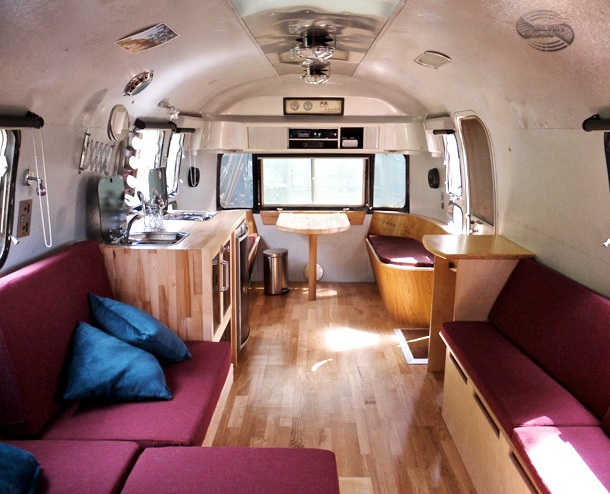 How neat is this transformed Airstream interior I found on Pinterest!  (http://www.pinterest.com/pin/560487116096417320/)
