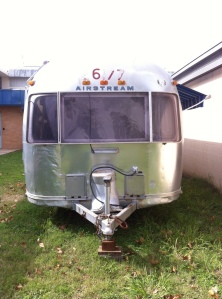 Silver and Shine, Our Airstream is a dime!