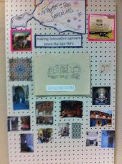 The Fo'sheimer and Filles Fabrications inspiration board!
