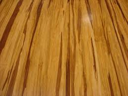 An example of what bamboo flooring looks like, it has a natural feel to it.