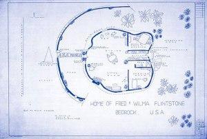 Mark Bennett- Flintstones Home http://blog.buildllc.com/2010/06/the-floor-plans-of-mark-bennett/