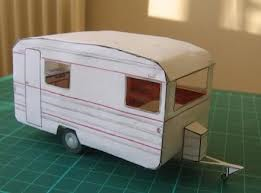 Picture 1: paper model of a trailer (indulgy.com)