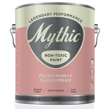 This is an example of a brand of non toxic paint which gives of little chemicals and is safer for the environment.