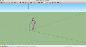 The most lovely Google Sketchup startup screen. Oh, the possibilities!