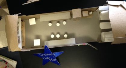 This is the design that will become the new teacher's common area!
