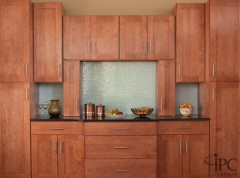 Cabinets made from European birch wood (fancy). http://173-254-13-234.bluehost.com/images/bryn_mawr_comp1_new.jpg