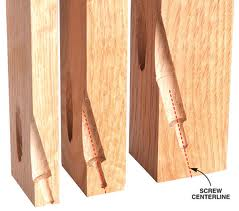 We have been learning how to use the drills and saws by drilling things like pocket holes.  americanwoodworker.com