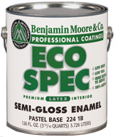 Low VOC paint. http://ecosalon.com