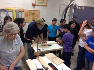 Our amazing field trip where we made toolboxes and learned all about tools.