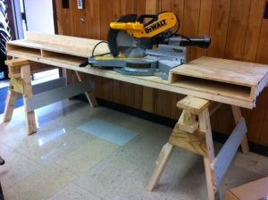 3: Finished saw table