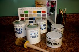 Chalk Paint and Wax beingecochic.com