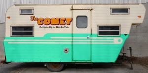 This COMET Camper is what Mariah and Matt created as their off base home.