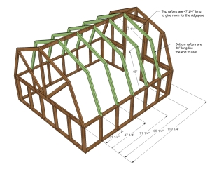 This will be the skeleton of the greenhouse