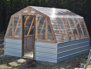 The design we are using for our greenhouse!
