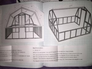 These are our class work looked like. We had a picture of the green house which we scaled down. There was also instructions. After we did this we cut and pasted them into our notebooks.